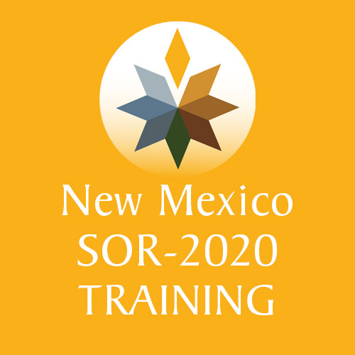 New Mexico SOR 2020 Grant Training